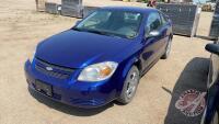 2007 Chevrolet Cobalt LS, 185,830 Kms showing, VIN# 1G1AJ15F977139994, H72, Owner: Rhonda L Pennycook, Seller: Fraser Auction________________ ***TOD & Keys - office trailer***