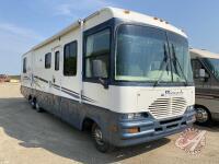 1998 Pinnacle Motorhome, 40,834 showing, ***MPI - REBUILT***, VIN#W360799, FRESH SAFETY, H87, Owner: 6847961 Manitoba Ltd, Seller: Fraser Auction_________________ ***TOD, Safety, Keys - office trailer***