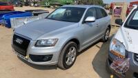 2009 Audi Q5 V6 Sport Utility, *MPI REBUILT STATUS*, 194,551 kms showing, VIN#WA1KK68R59A018844, H142, Owner: Harmanjit S Mahal, Seller: Fraser Auction_____________________ ***TOD, Safety & keys - office trailer***