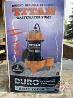 Sump Pump - NEW, H154