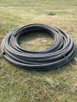 """2 coils of NEW poly water pipe, 1 coil is approx 300' & 1 1/2""""is approx 100', A52"""