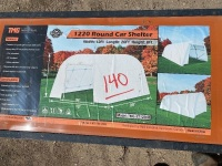 Shelter car canopy 12'X20', H50, New