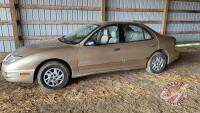 2005 Pontiac Sunfire,46,149kms showing, VIN#3G2JB52F75S165285, Owner: Andrew B Reuvekamp, Seller: Fraser Auction________________________