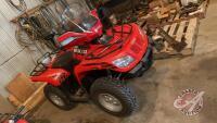 2012 Arctic Cat 425 4WD ATV VIN#RFB12ATV9CK6Z0158, Owner: Benjamin Reuvekamp, Owner: Estate of Rita Reuvekamp, Seller: Fraser Auction__________________________