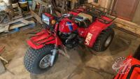 Honda Big Red 3-wheel ATV VIN#JH3TB055XEC445625