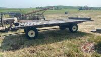 4-wheel farm rack wagon (A)