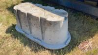 Behlen Country poly water trough (A)