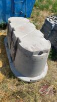 Behlen Country poly water trough (B)