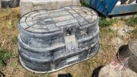 Rubbermaid 150 gallon water trough (D)