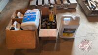Antifreeze and Chain lube