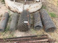 part rolls of various wire (sells as a lot)