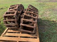 steel Skid Steer tracks - previously on NH855, A58