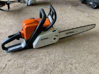 Stihl MS 180 Chain Saw, A55
