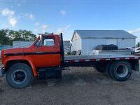 1987 GMC Truck, 8 cyl, Orange, 287,900 kms showing, VIN#1GDJ7D1BXHV536665, A53 Owner:5343772 Manitoba Ltd, seller: Fraser Auction______________ ***tod & keys***