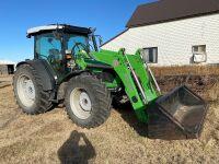 *2014 Deutz 430 Agro-Farm MFWA 110hp tractor