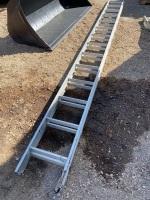 26' aluminum Extension ladder, A55