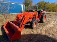*2011 Kubota MX5100 Open Station MFWA 52hp Tractor