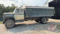 1978 IH Loadstar 1700 s/a grain truck, 101,663 showing VIN D052HC827089 Owner: Christopher Walwin & Sarah B Walwin, Seller: Fraser Auction _____________________
