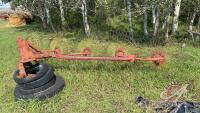 5-wheel 3PT rake