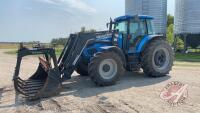 Landini Legend 160 Delta Shift MFWD tractor w/Quicke Q980 loader