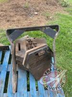 Front weight carrier and suit case weights off CaseIH 94 series