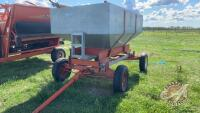 Kendon Galvanized gravity box on 4-wheel wagon
