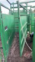 6ft Real Ind adjustable splitting alley w/rolling gate