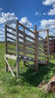 10ft Wooden loading chute