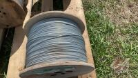 New roll of 12.5ga Galv-Hi-Ten wire 3750ft