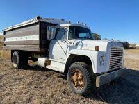 *1978 IH Loadstar 1700 S/A grain truck, 068,409 showing, VIN#D0522HCA21932, NOT RUNNING, Owner: Estate of John G Morrice, Seller: Fraser Auction _____________