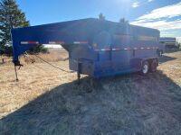 *1988 16' Norbert's tandem axle stock trailer, VIN#2N9C65528JG017150, Owner: Estate of John G Morrice, Seller: Fraser Auction__________