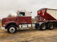 *2007 Freightliner FLD 120 T/A hwy tractor, 1,551,713 showing, VIN#1FUJALCK07DW52659,Owner: Ben G Amendt, Seller: Fraser auction_______________ ***TOD, SAFETIED & KEYS***