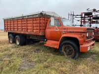 *Chevy C65 tag axle grain truck, 83,883 showing, VIN# CCE674V138369, NO TOD FARM USE ONLY Seller: Fraser Auction_______________