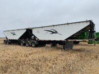 *2013 Load King Prestige Super-B hopper bottom aluminum grain trailers, Lead VIN#2LDHG283XDF055190, Pup VIN#2LDHG302ODF055191, Owner: Ben G Amendt, Seller: Fraser Auction______________ *** TOD & SAFETIED***