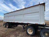 *28' Midland T/A end dump trailer, VIN#2M9B2S6C8RR018911, Owner: Ben G Amendt, Seller: Fraser Auction______________, ***TOD & SAFETIED****