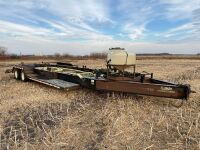 *37' Trail Tech tandem dualled sprayer trailer