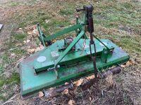 *5' Douglas 3PT finishing mower