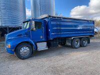 *1996 Kenworth T300 t/a grain truck, 134,095 original kms showing, 6,332hrs showing, VIN# 3NKML79X7TF944237, Owner: Pearl L McBride & Robert M McBride, Seller: Fraser Auction _____________ ***TOD, SAFETIED & KEYS***