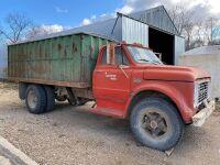 *1967 GMC 950 s/a grain truck, 96,824 miles showing, VIN# C9E5371113959, Owner: Robert M McBride, Seller: Fraser Auction_____________ ***TOD & KEYS***