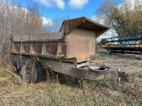 *11' s/a gravel trailer