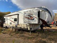 *2015 32.5' Sprinter (by Keystone) 269 RLS 5th wheel t/a camper, VIN# 4YDF26929F1531242, Owner: Robert M McBride, Seller: Fraser Auction____________ ***TOD & KEYS***