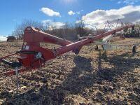 """*Buhler/Farm King 13""""x70' PTO swing hopper auger"""