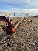 "*10""x60' Farm King PTO swing hopper auger"