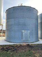 *Approx 4000-bushel Westeel flat bottom bin on cementBINS MUST BE REMOVED BY JULY 15th, 2021