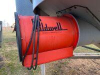 *3hp Caldwell aeration fan