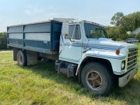 *1982 IH S1700 S/A Grain truck, 130,782kms showing, VIN#1HTAA17B4CHB16182, Owner: Lourie R Woodhouse, Seller: Fraser Auction____________ ***TOD & KEYS***