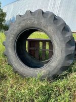 *710/70R38 Good Year USED tire, approx. 20% been repaired a couple times