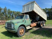 *GMC 6500 tag axle grain truck, NO TOD- FARM USE ONLY Seller: Fraser Auction_____________