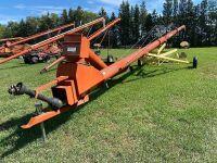 """*1992 10""""x60' Farm King swing hopper auger"""