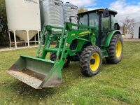 *2008 JD 5225 MFWD 56hp tractor